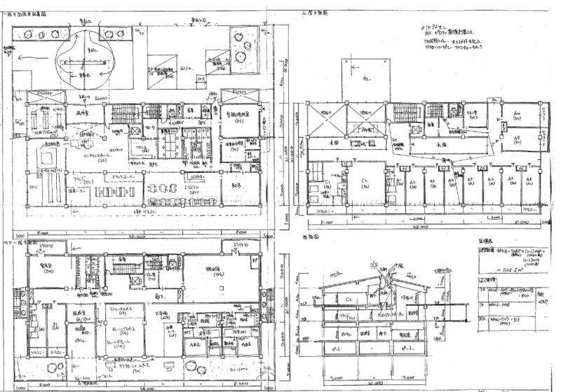 一級建築士製図再現図
