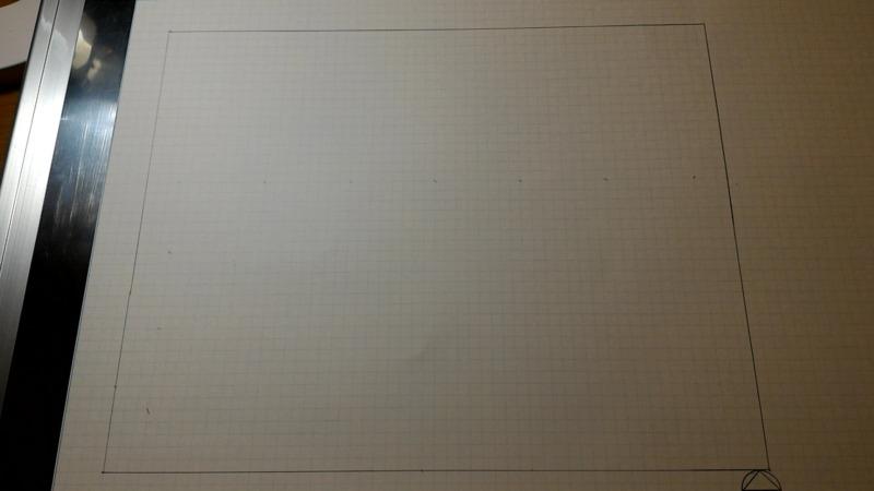 一級建築士製図試験作図手順1
