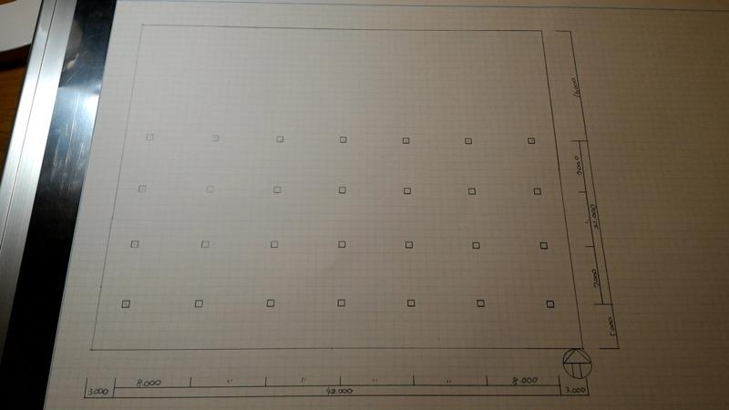 一級建築士製図試験作図手順2