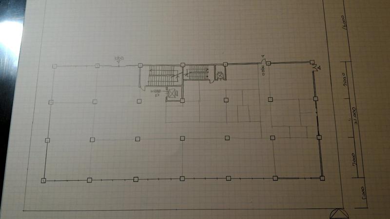 一級建築士製図試験作図手順6