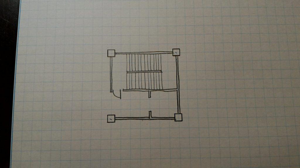 施設利用者用階段6