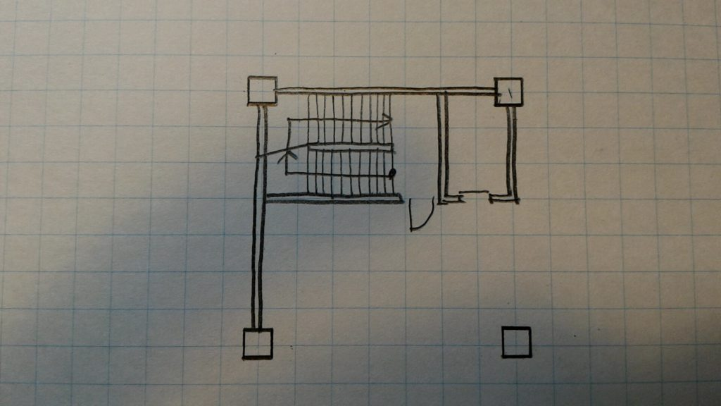 サービス用階段4