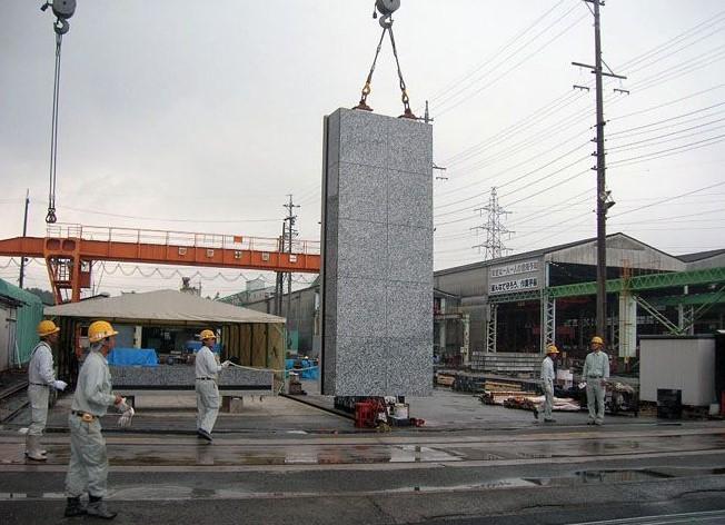 石先付けプレキャストコンクリート