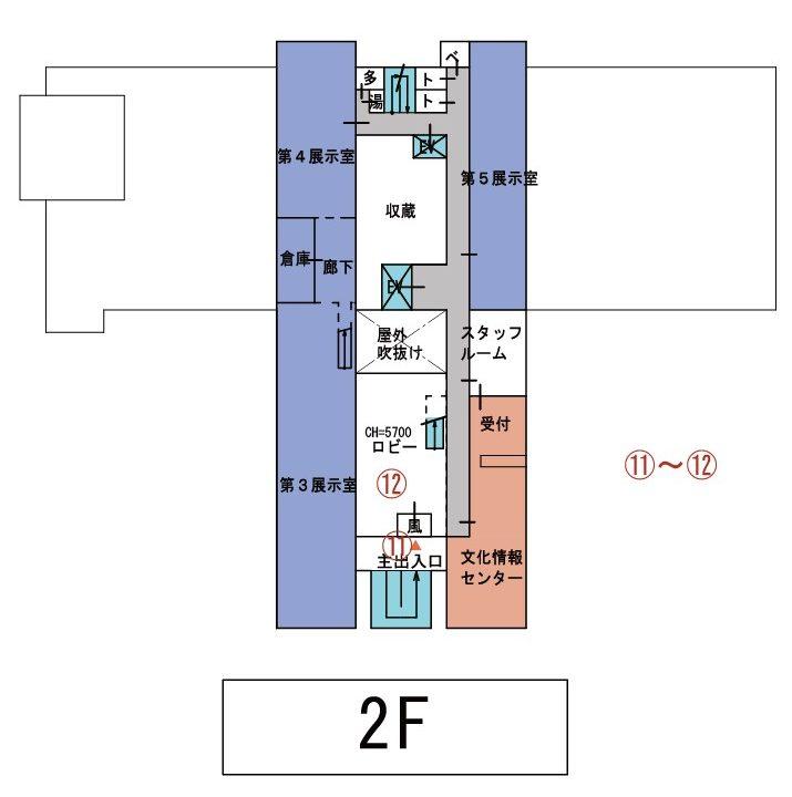 美術館分館2F平面