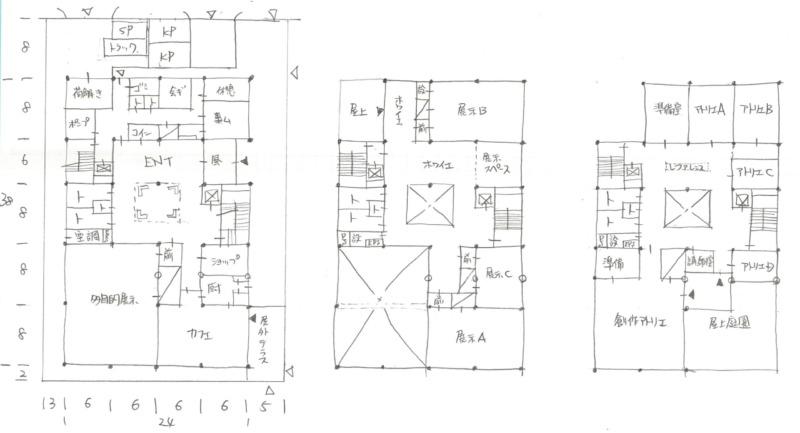 一級建築士製図2019年令和1年標準解答例2