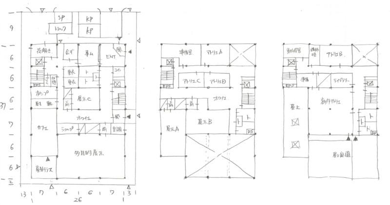 一級建築士製図2019年令和1年標準解答例1