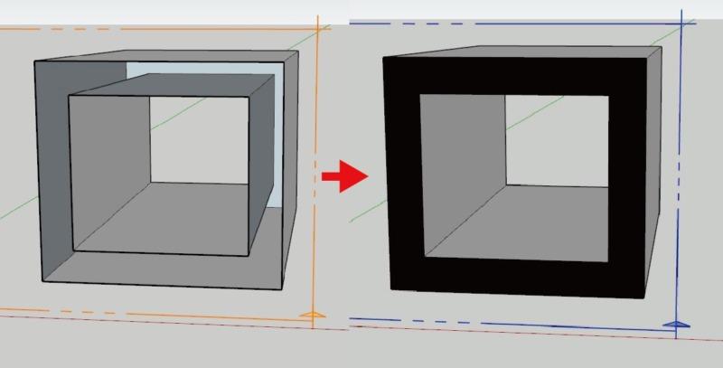 スケッチアップ建築系おすすめプラグインsectioncutface