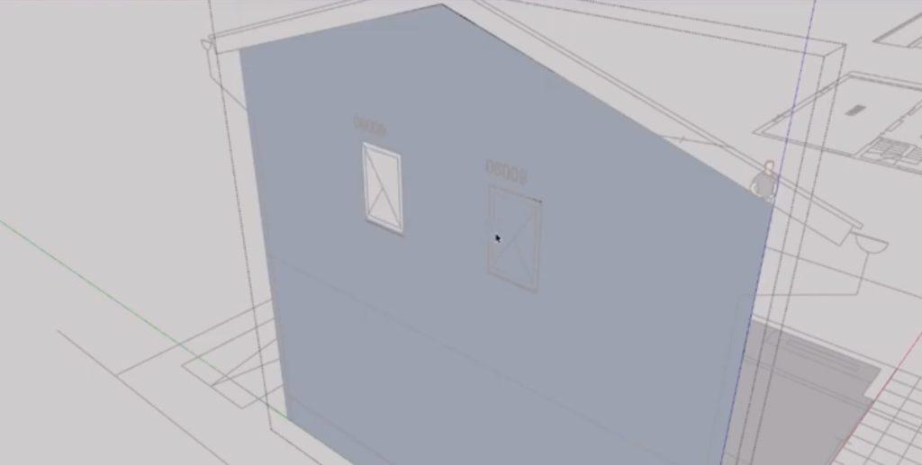sketchup使い方下書きから外壁まで