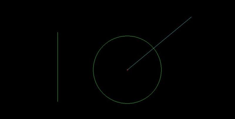Jwcad円の中心の取り方3