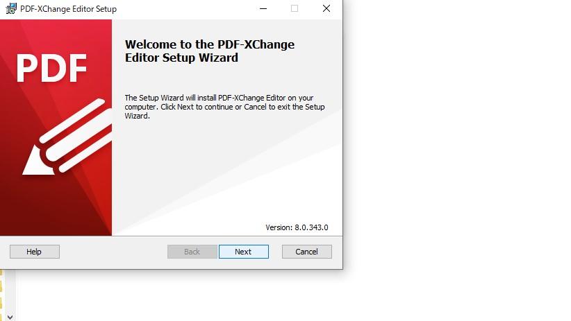 PDF編集ソフトPDF-Xchange-editorインストール3