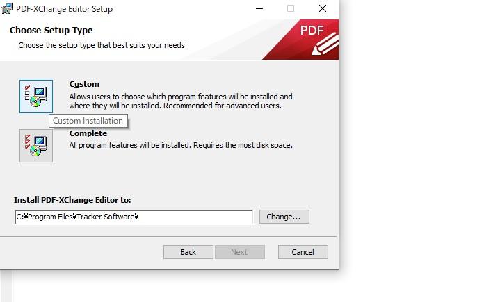 PDF編集ソフトPDF-Xchange-editorインストール4