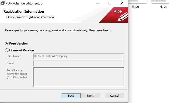 PDF編集ソフトPDF-Xchange-editorインストール8