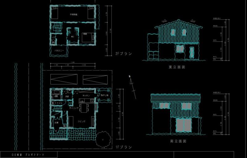 CADで手描きスケッチ作図4