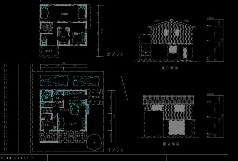 CADで手描きスケッチ作図6