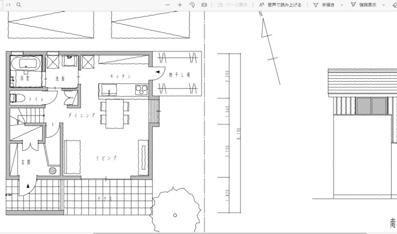 CADで手描きスケッチ作図8