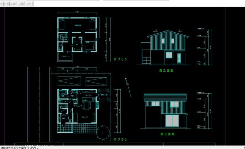 CADで手描きスケッチ作図2