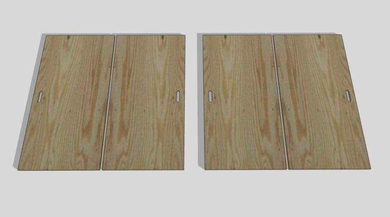 合板テーブル自作DIY8