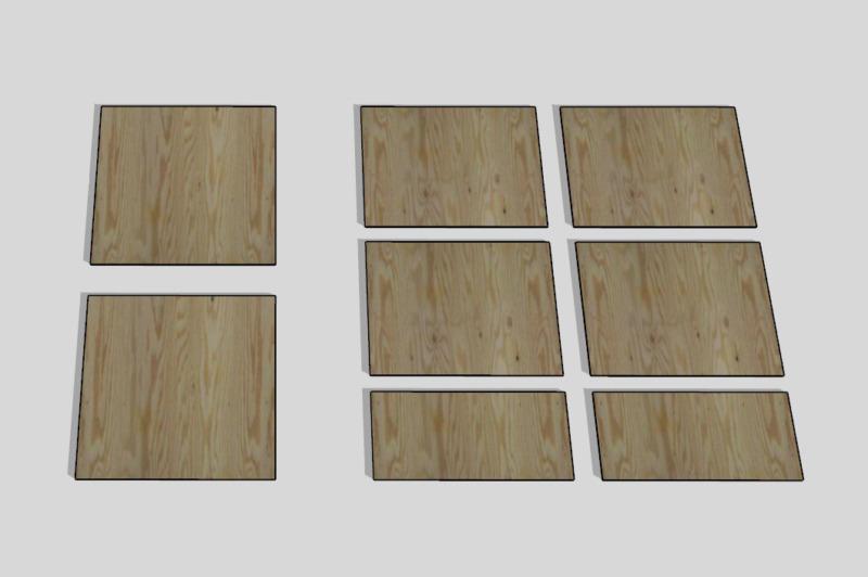 合板テーブル自作DIY3