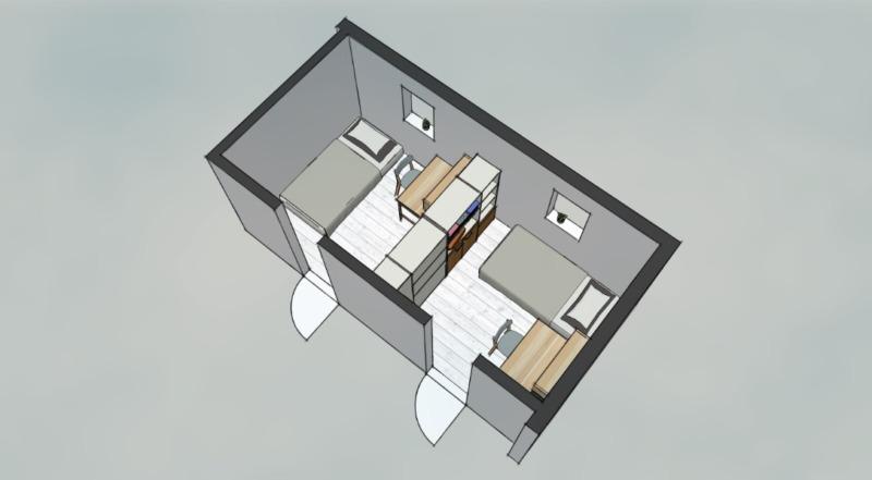 部屋分割置き家具1